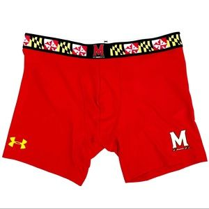 🆕 Under Armour Maryland Terrapins Boxer Briefs